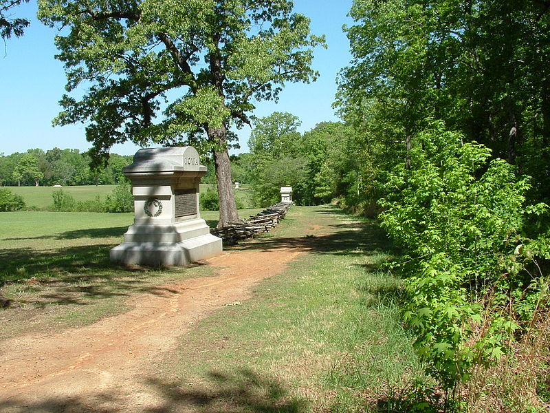 File:Sunken Road, Shiloh National Military Park.JPG
