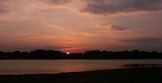 Lake Tawakoni - Sunset over Duck Cove