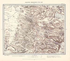Dothan (ancient city) - Image: Survey of Western Palestine 1880.11