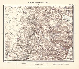 Bal'a - Image: Survey of Western Palestine 1880.11