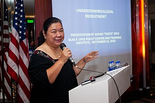Susan Ople Philippine politician