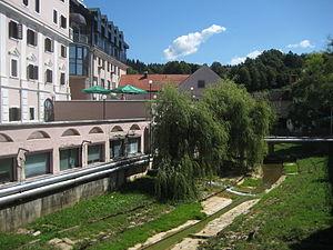 Dolenjske Toplice - Image: Susica Dol Toplice