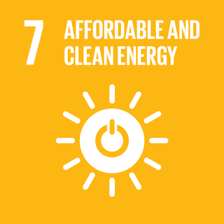 Sustainable Development Goal 7 The seventh of 17 Sustainable Development Goals to achieve affordable and clean energy for all by 2030