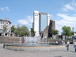 Swansea City Centre - Castle Square