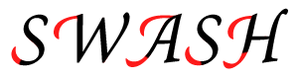 Swash (typography) - Swashes marked with red color
