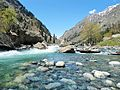 Swat River Pakistan, taken by Aisha (2).JPG
