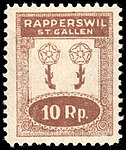 Switzerland Rapperswil 1920 revenue 2 10r - 28.jpg