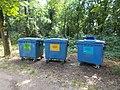 Szelektív hulladék konténerek, 2018 Majkpuszta.jpg