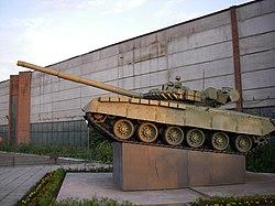 T-80 in SPb