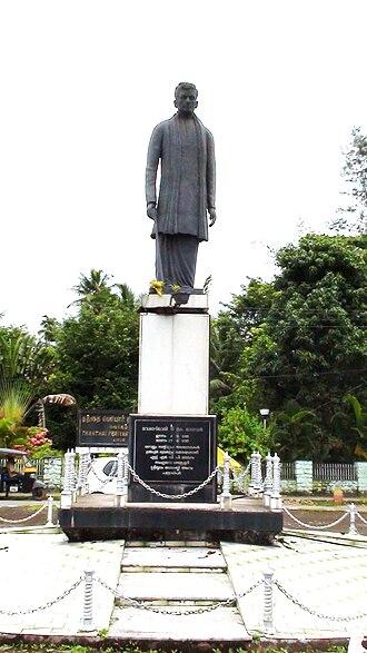 T. K. Madhavan - Statue of T. K. Madhavan
