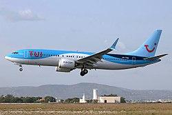 TUI Airlines Belgium, OO-TMA, Boeing 737-8 MAX.jpg
