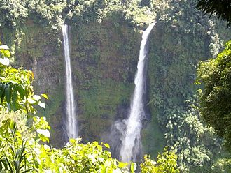 Sekong Province - Tad Fane Waterfall in the Bolaven Plateau
