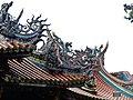 Taipeh Longshan-Tempel Dachlandschaft.jpg