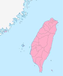 Taiwan map pink.png