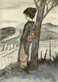 TakehisaYumeji-1927-Wild Fire.png