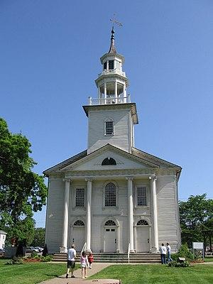 Tallmadge, Ohio - Image: Tallmadge church 2007 front