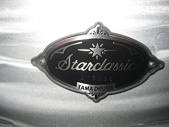 Tama Drums - Starclassic Performer B/B badge, lacquered white oyster finish