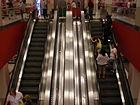 Tanforan Target escalator 1