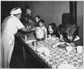 Taos County, New Mexico. The hot lunch, school at Penasco. Children pay about 1 cent daily for thi . . . - NARA - 521841.tif