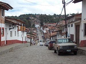 Tapalpa - Street in Tapalpa