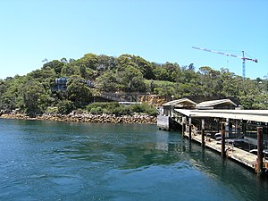 Taronga Zoo ferry services - The Taronga Zoo ferry wharf