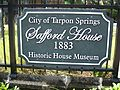 Tarpon Springs Safford House sign01.jpg