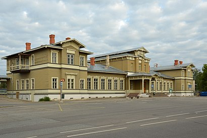 How to get to Tartu Raudteejaam with public transit - About the place