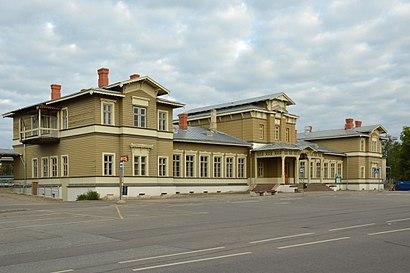 Kuidas ühistranspordiga sihtpunkti Tartu Raudteejaam jõuda - kohast
