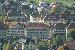 Tavannes Place in Bern, Switzerland