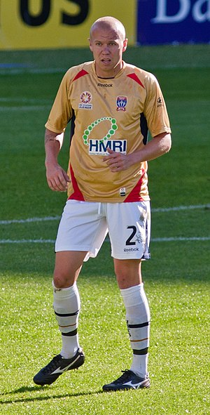 Taylor Regan - Regan playing for Newcastle Jets in 2010
