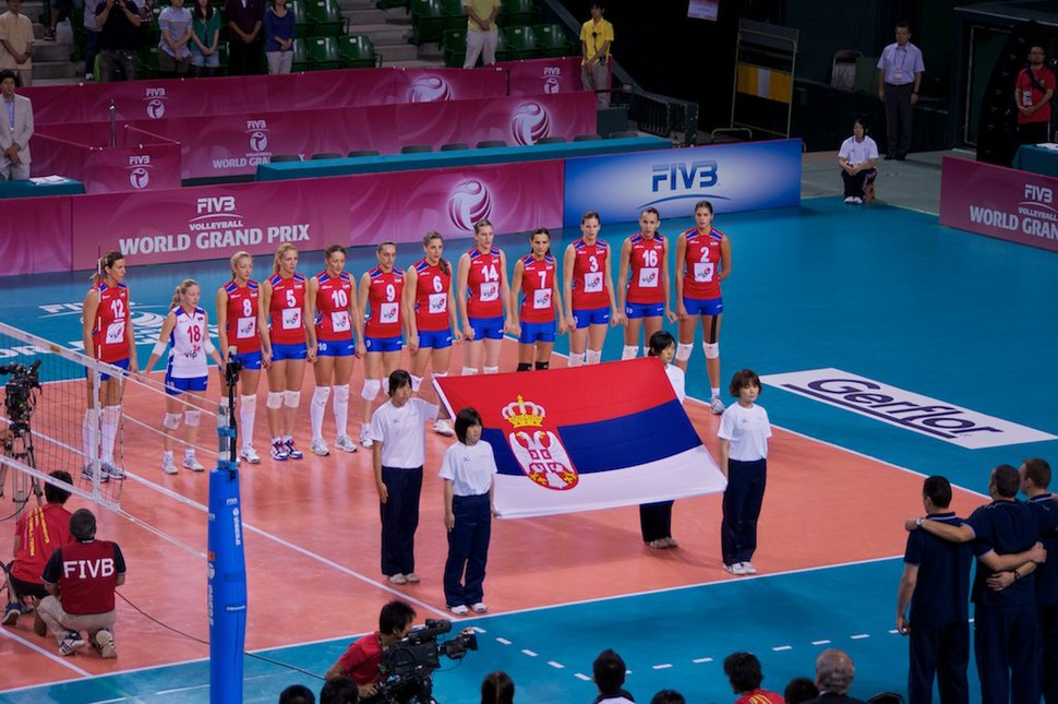 Team Serbia - 2011 FIVB Women's Volleyball World Grand Prix