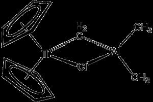 Bent metallocene - Image: Tebbe Rgt