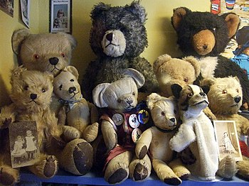 English: Teddybears At the Museum of Childhood...