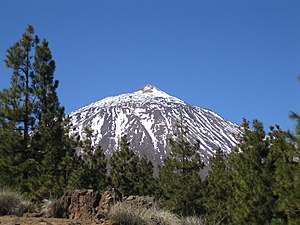 Teide, the highest mountain in Spain (Tenerife...