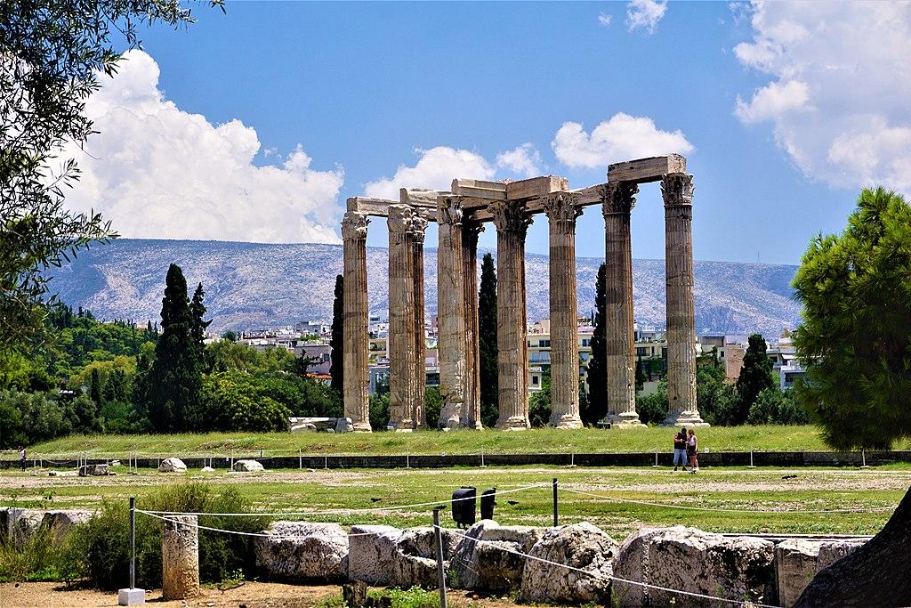 Temple of Olympian Zeus, Athens - Joy of Museum