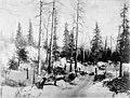 Tent camp in snow at Thompson Pass, Alaska, circa 1906 (AL+CA 4690).jpg
