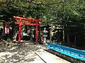 Tentaka Inari Shrine and Hakuryu Shrine in Kitano Temman Shrine in Kitano-cho, Kobe.JPG