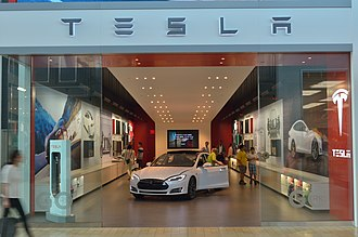 Yorkdale Shopping Centre - Tesla Motors opened their first store in Canada at Yorkdale. The mall has been a point of entry into the Canadian market for several international enterprises.