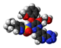 Tezosentan molecule spacefill.png