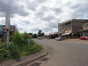 Central Business Area in Thabazimbi