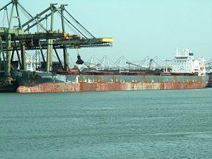 Thalassini Kyra, Mississippi harbour, Port of Rotterdam, Holland 04-May-2006.jpg