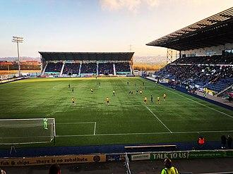 Falkirk Stadium - Image: The Falkirk Stadium
