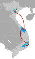 The Amazing Race Vietnam 2012 map.png