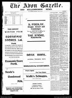 <i>The Avon Gazette and York Times</i>