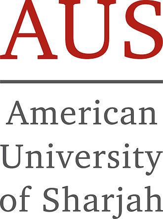 American University of Sharjah - Image: The Brandmark of The American University of Sharjah in United Arab Emirates