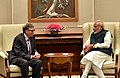 The Co-Chairman of the Bill & Melinda Gates Foundation, Mr. Bill Gates calls on the Prime Minister, Shri Narendra Modi, in New Delhi on November 16, 2016 (1).jpg