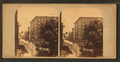 The Continental Hotel, Chestnut Street, Philad'a, at the time of the visit of the Japanese Embassy, from Robert N. Dennis collection of stereoscopic views.png