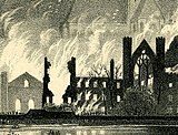 Conflagration of Houses of Parliament, 1834