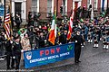 The FDNY EMS Pipes and Drums Band Took Part In The New York Parade On Sunday And Then Jetted To Dublin To March In Dublin On Sunday (8566209032).jpg
