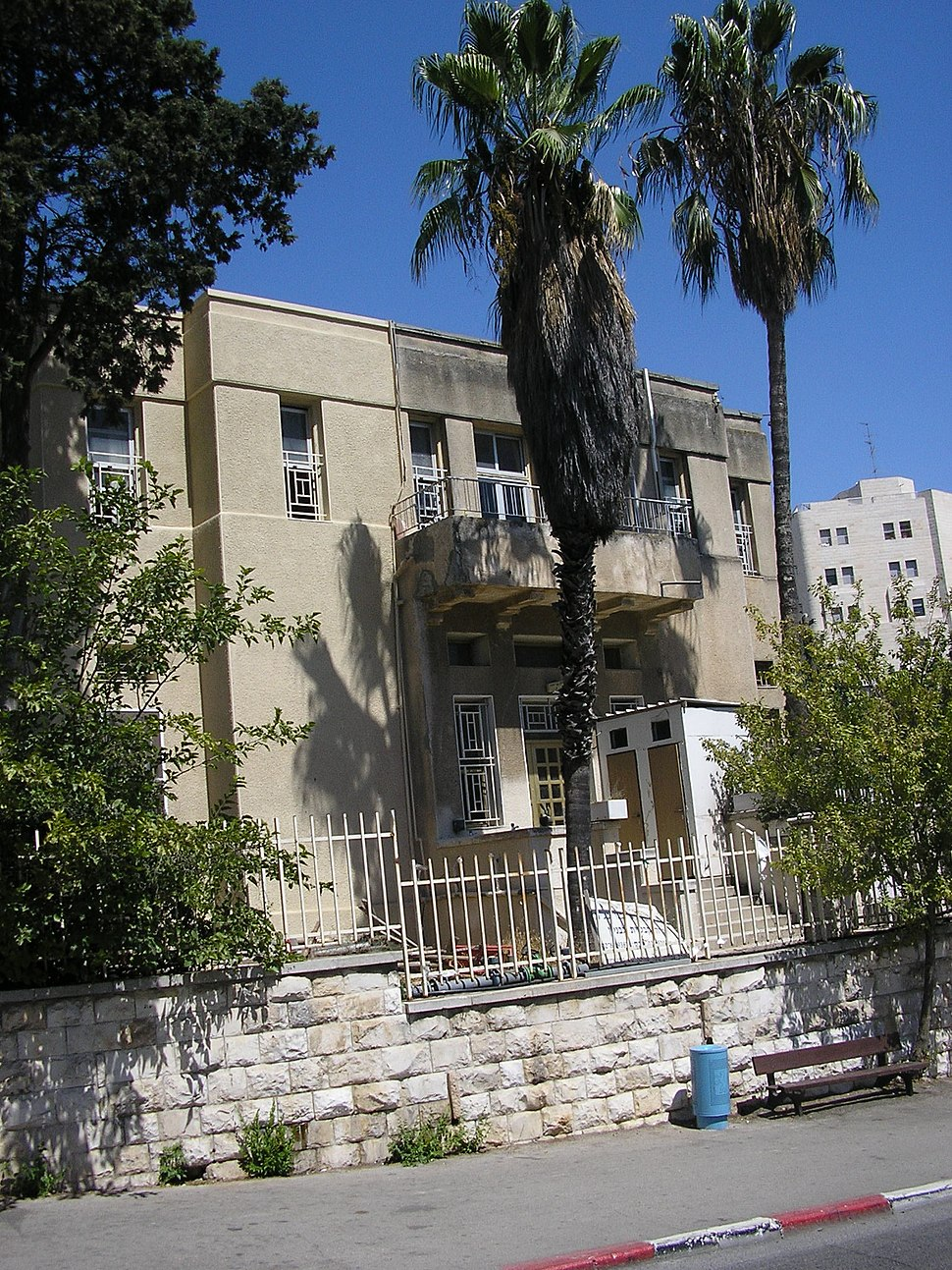 The Jewish Institute for the Blind in Jerusalem in 2007